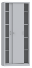 00150800 Szafa przesuwna, 4 półki (wymiary: 1950x800x600 mm)