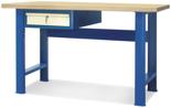 00853677 Stół warsztatowy, 1 szuflada (wymiary: 1500x900x740 mm)