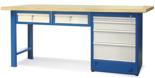 00853694 Stół warsztatowy, 6 szuflad (wymiary: 2100x900x740 mm)