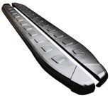 01655948 Stopnie boczne, czarne - Nissan Pathfinder R51 2005- (długość: 171 cm)