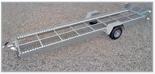 02938388 Wózek sadowniczy samorozładowczy WS-4SR, wersja: ocynkowana (ładowność: 1600 kg)