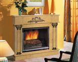 03356464 Portal marmurowy Madera Palace do wkładów żeliwnych standardowych (kolor: Sunny Yellow)