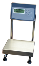 04049170 Waga stołowa ze stali szlachetnej bez legalizacji (nośność: 6 kg, podziałka: 0,2 g, wymiary: 260x300 mm)