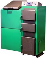 06652758 Kocioł z podajnikiem, automatyczny 25kW z systemem usuwania popiołu (paliwo: pellet, ekogroszek, węgiel, drewno)