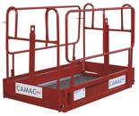 08126661 Platforma ręczna Camac AS-26 (udźwig: 425 kg)
