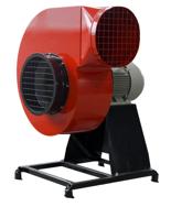 08549416 Wentylator promieniowy stacjonarny z ramą amortyzującą i z ramą amortyzującą WPA-14-S-3-N 400V (obroty synchroniczne: 3000 1/min, moc: 15 kW, wydajność wentylatora: 23100 m3/h)