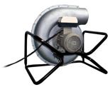 08549428 Wentylator promieniowy przenośny transportowy FAST-160-P (obroty synchroniczne: 3000 1/min, moc: 0,75 kW, wydajność wentylatora: 2500 m3/h)