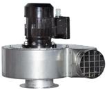 08549475 Wentylator przeciwwybuchowy promieniowy stanowiskowy WP-8-E/Ex (obroty synchroniczne: 3000 1/min, moc: 1,5 kW, wydajność wentylatora: 2500 m3/h)