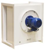 08549504 Wentylator chemoodporny kanałowy BOX-CHEM-315/1500 (obroty synchroniczne: 1500 1/min, moc: 0,75 kW, wydajność wentylatora: 3820 m3/h)
