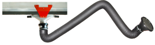 08549574 Odciąg stanowiskowy, zestaw wyciągowy: kanał odciągowy + wózek + ramię ssące ERGO-KOS (średnica ramienia odciągowego: 160 mm, długość ramienia odciągowego: 2 m, długość segmentu kanału: 2 m)