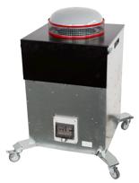 08549600 Urządzenie filtrowentylacyjne, wersja z recyrkulacją powietrza - do filtrowentylacji ogólnej RAK-1000-RC (moc: 160 W, wydajność: 1260 m3/h)