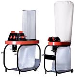 08549616 Urządzenie filtrowentylacyjne, odpylacz z workiem zbiorczym polietylenowym oraz filtrem workowym bez przewodów elastycznych i wyposażenia EGO-2W/M (powierzchnia filtracyjna: 2,5 m2, moc: 1,1 kW, wydajność: 2950 m3/h)