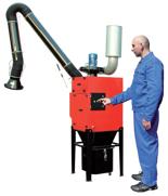 08549622 Urządzenie filtrowentylacyjne do oczyszczania powietrza z suchych pyłów bez ramion odciągowych STRONG-1000-N (pojemność pojemnika na odpady: 72 dm3, moc: 1,5 kW, wydajność: 1750 m3/h)