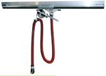08549705 Odsysacz spalin, odsysacz balansowy przejezdny z przepustnicą, wężem elastycznym - bez ssawki OBP/P-AL-100-6 (długość węża: 6m, średnica: 100mm)