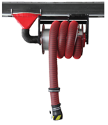 08549718 Odsysacz spalin, przejezdny bęben odsysacza z napędem sprężynowym i z przepustnicą - bez zestawu wężowego, stopera i ssawki OP-ALAN/P-U/C-8 (dla długości węża: 8m)