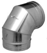 12138572 Kolanko z elementem kontrolnym Dinak SW 432 (średnica: 250mm, kąt: 90 stopni)