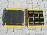 12235597 Wózek stały 9 rolkowy, rolki: 9x kompozyt (nośność: 18 T)