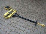 12235606 Wózek skrętny 12 rolkowy, rolki: 12x kompozyt (nośność: 16 T)