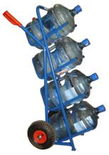 13340556 Wózek dwukołowy ręczny do przewozu galonów (nośność: 150 kg)