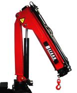 15246867 Żuraw jednoramienny Befard BF 1700A.12 (udźwig: 4100-1700 kg, zasięg: 1,2- 5,1m, ilość wysuwów hydraulicznych/ręcznych: 2/2)
