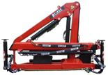 15246902 Żuraw dwuramienny Befard XF 1500B (udźwig: 370-990 kg, zasięg: 2,1-7,5 m, ilość wysuwów hydraulicznych/ręcznych: 3/brak)