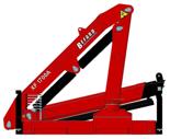 15246909 Żuraw dwuramienny Befard XF 1700A.12 (udźwig: 330-1920 kg, zasięg: 2,0-9,1 m, ilość wysuwów hydraulicznych/ręcznych: 2/2)