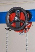 22038985 Wózek jedno-belkowy z napędem ręcznym Z420-A/3.2t/4m (wysokość podnoszenia: 4m, szerokość dwuteownika od: 106-125mm, udźwig: 3,2 T)