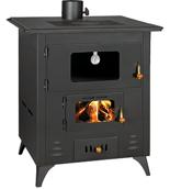 23055306 Piec kuchenny 14kW (wylot spalin: góra, kolor: czarny)