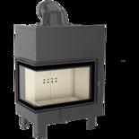 30046775 Wkład kominkowy 10kW MBM BS (lewa boczna szyba bez szprosa)