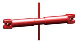 33916830 Napinacz łańcuchowy widełkowy KSS 8 (udźwig: 2 T, długość rozciągnięcia: 120 mm)