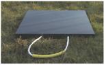 33922678 Podkład gumowy kwadratowy pod stopy stabilizatorów dźwigów GP 60-60 (wytrzymałość: 60 T, wymiary: 1200x1200x60 mm)