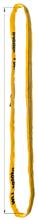 33948521 Zawiesie wężowe o obwodzie zamkniętym, kolor: pomarańczowy miproSling (długość pasa: 5 m, udźwig: 30000 kg)