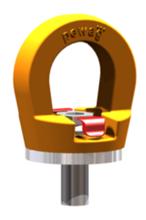 33948563 Śruba z uchem obrotowym PLGW 12t M48 (udźwig: 12 T, gwint: M48)