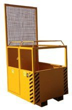 33962249 Kosz na ludzi do wózka widłowego miproFork TWK 800 (udźwig: 300 kg, powierzchnia podłogi: 800x1200mm, kieszeń na widły: 200mm, szerokość między widłami: 400mm, minimalna długość wideł: 900mm)