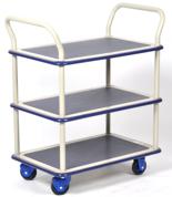 39955542 Wózek warsztatowy, 3 półki (wymiary: 920x610x1270mm)