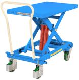 39955555 Wózek platformowy nierdzewny nożycowy ze sprężyną (wysokość podnoszenia: 393-813 mm,wymiary: 1191x520mm, udźwig: 600 kg)