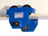 4498687 Ręczny wózek rolkowy podkołnierzowy podwieszany Tractel® Corso RC (szerokość kołnierza od 220 do 300mm, udźwig: 1T)