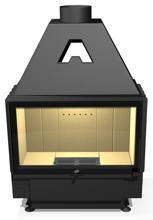 48946354 Wkład kominkowy powietrzny 14kW ARYSTO A11 H szyba podnoszona do góry (szyba płaska podwójna, wymiar frontu: 800 x 510)