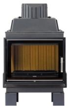 52232150 Wkład kominkowy Leda 8kW VIDA 68 F z drzwiami bez ramowymi (szyba prosta)
