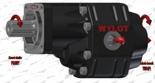 72355195 Pompa hydrauliczna zębata do wywrotu - prawy kierunek obrotów (objętość geometryczna: 109 cm3/obr, zakres obr: 250-1500, ciśnienie nominalne: 25 MPa)