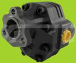 72355197 Pompa hydrauliczna zębata do wywrotu - prawy kierunek obrotów (objętość geometryczna: 109 cm3/obr, zakres obr: 300-1500, ciśnienie nominalne: 25 MPa)