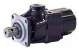 72355228 Pompa hydrauliczna tłoczkowa prosta do wywrotu - lewy i prawy kierunek obrotów (objętość geometryczna: 42 cm3/obr, zakres obr: 300-1800, maks. ciśnienie pracy ciągłej: 35 MPa)