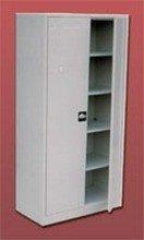 77157077 Szafa biurowa ekonomiczna, 2 drzwi, 4 półki regulowane (wymiary: 2000x1200x440 mm)