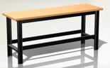 87853386 Stół warsztatowy podstawowy - blat ze sklejki (wymiary: 1960x890x600 mm)