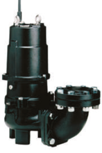 99230301 Pompa ściekowa, trójfazowa 80U23.7 (moc: 3,7 kW, maks. wydajność: 1030 l/ min)