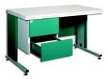 99551872 Biurko, 2 szuflady (wymiary: 740x1600x800 mm)