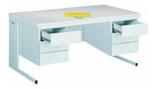 99551873 Biurko, 6 szuflad (wymiary: 740x1600x800 mm)