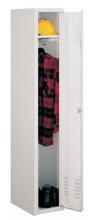 99552119 Szafka ubraniowa 0,6mm, zamek ryglujący drzwi w 3 punktach, 1 drzwi (wymiary: 1800x300x490 mm)