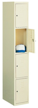 99552252 Szafka ze schowkami 0,6-0,8mm, 4 drzwi (wymiary: 1800x400x490 mm)