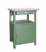 99552437 Stół warsztatowy, 1 szuflada, 1 drzwi (wymiary: 850x600x600 mm)